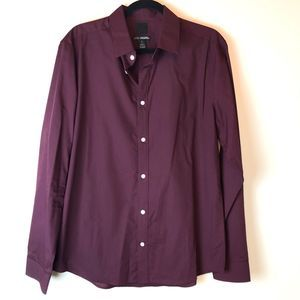 H&M | Purple Slim Fit Button Down Shirt